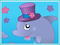 "Пазл ""Дельфины"""