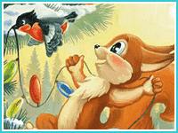 """Найди отличия """"Новый год в лесу"""""""