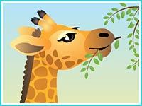 """Пазл """"Жираф"""""""
