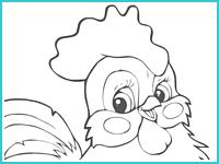 раскраска попугая кеши детская картинка рисунок с попугаем