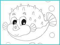"""Раскраска """"Подводный мир"""""""